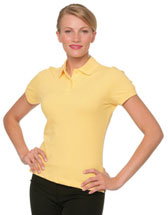 513.01 Fruit of the Loom Lady Fit Polo 63-560-0