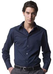 RussellCollection - Hemd Tencel Fitted Shirt Langarm - 136 g/m² - Jerzees 954M - Artikel: 754.00