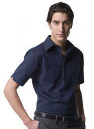 RussellCollection - Hemd Tencel Fitted Shirt Kurzarm - 136 g/m² - Jerzees 954M - Artikel: 755.00
